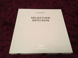 【送料無料】iwc selection watch catalogue 2017 2018