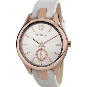 【送料無料】*mistery gift* orologio donna breil liberty tw1461 ros vera pelle bianco sub 50