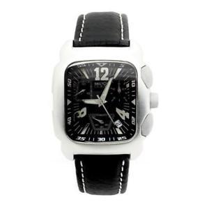 【送料無料】orologio sector uomo 3251965025 alluminio pelle nero vintage 50 60 originale
