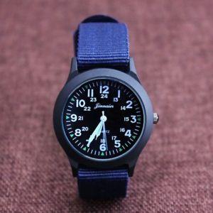 【送料無料】electronic wristwatches men children boys fashion students canvas for gifts