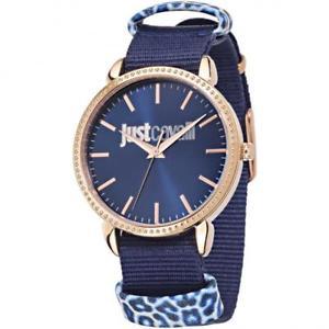 【送料無料】orologio donna just cavalli allnight r7251528502 ros tessuto blu sub 50mt