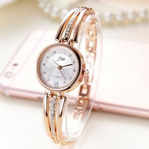 【送料無料】luxury rhinestone gold watch women brand stainless steel xmas gifts for her mum