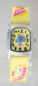 【送料無料】activa kids sv635005 yellow rubber strap watch