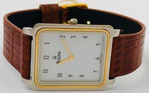 【送料無料】bulova time bicolor 143051 orologio watch uhr very vintage very rare bu261 it