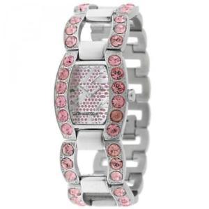 【送料無料】orologio donna chronotech ct7075ls07m bracciale acciaio rosa swarovski lady