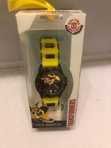 【送料無料】transformers boys wristwatch lcd kids