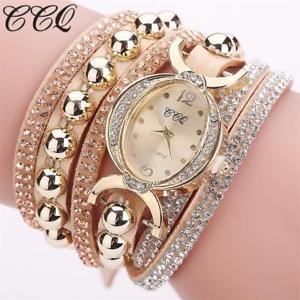 【送料無料】monarch time fashion women rhinestone bracelet watch luxury crystal wristwatches