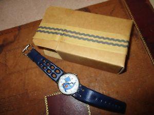 【送料無料】vintage 1973 sorry charley tuna starkist foods calendar watch mint w orig box