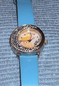 【送料無料】htf rhinestone tinker bell watch