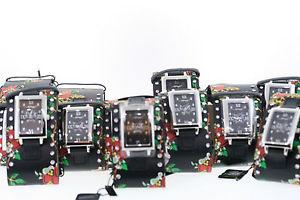 【送料無料】whole lot of 10 ed hardy ttblk love kills slowly watches need batteries