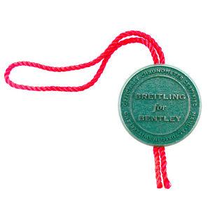 【送料無料】breitling for bentley green watch hang tag in great condition