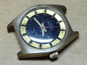 gents buler time star watch, runs but stops, wear as shown, a bit loose within