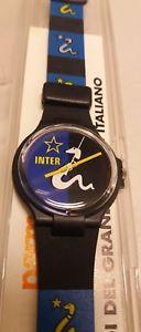 【送料無料】orologio inter football sport watch parmalat enduro vintage anni 90 collezione