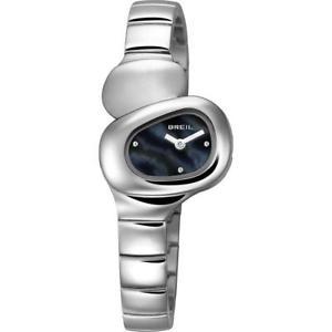 【送料無料】breil orologio donna stone tw1203 quarzo acciaio nero madreperla cristalli logo