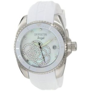 invicta  angel 0486  silicone  watch
