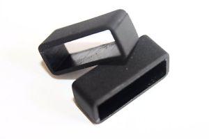 【送料無料】luminox genuine 23mm navy seal 3050 3950 8800 rubber replacement keepers loops