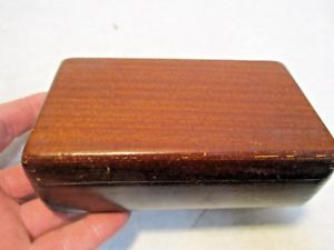 【送料無料】vintage buren wood watch case that is in good shape 625x45x2 nr