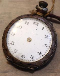 【送料無料】montre de poche, col, gousset 29,6 mm,  f507