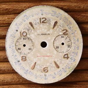 【送料無料】cadran montre chronographe mcanique norina landeron 4851 c1161