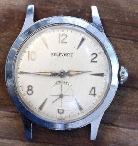 【送料無料】jolie montre mcanique ancienne belforte, calibre 11a1  f702
