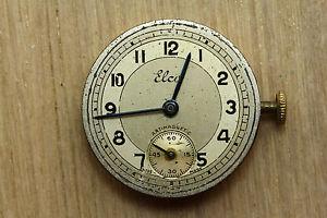 【送料無料】mouvement de montre mcanique ancien 15 rubis elco 23,6 mm  3812