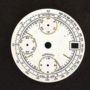 【送料無料】cadran montre chronographe automatique valjoux 7750 nos  c138