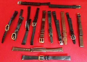 【送料無料】lotto 15 cinturini donna vintage anni 50 60 misura 10 mm 01