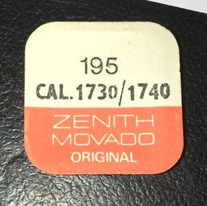 【送料無料】rf 195, axe de barillier cal 1730 1740 zenith movado c3