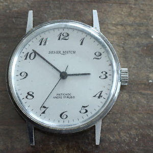 【送料無料】montre mcanique ancienne silver match calibre fr304 f1425