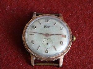 【送料無料】vintage montre mcanique witt 17 jewels pour pices