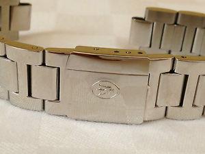 cinturino originale watch uhr steel maserati acciaio lucido misura 14 mm altm53