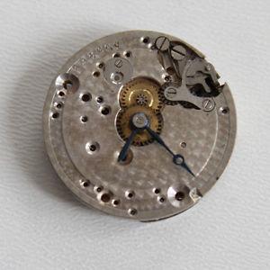 【送料無料】mcanisme de montre ancienne, balancier ok, 15 rubis, ref 89 19,5 mm f3802