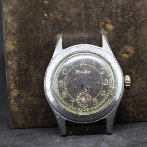 montre mcanique ancienne majic   f6119