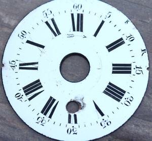 cadran mouvement de montre de poche gousset maill    f816