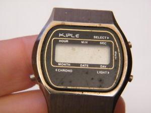 【送料無料】montre watch digital quartz kiple marqu hong kongsans pile,nm552
