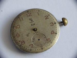 【送料無料】vintage mouvement de montre mcanique yema kid 15 rubis cal jej ps31