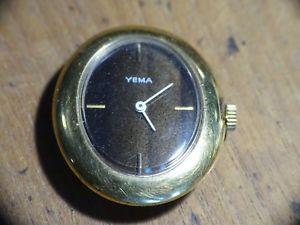 【送料無料】montre vintage mcanique yema 17 jewels cal8f