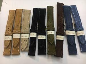 【送料無料】neues angebotmorellato cinturino scamosciato vari colori e misure originale