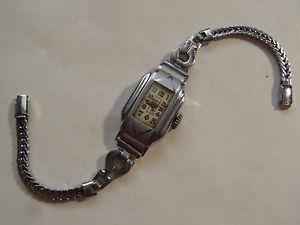 【送料無料】ancienne montre metal chrom