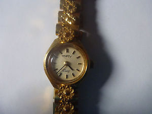 【送料無料】watch montre maty quartz 72673 vintage ancien bracelet femme fille lady gift art