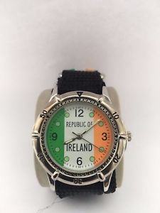 【送料無料】ireland mens quartz analogue adjustable strap