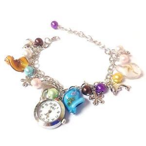 【送料無料】pretty beaded bracelet watch gift boxed guaranteed free uk pamp;pcg0071