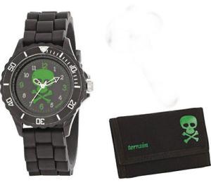 【送料無料】tikkers childrens skeleton watch with wallet  atbxtnp