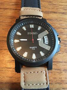 【送料無料】mens fashion quartz watch  w28