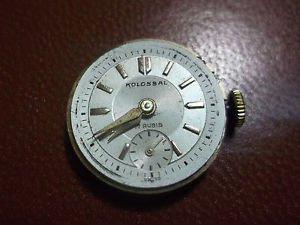 【送料無料】movimento orologio kolossal swiss made 17 jevels meccanico 2*11