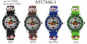 【送料無料】 kids american rugby football tachymeter round wrist watch 30mm