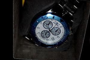 【送料無料】invicta 11449 men pro diver chronograph steel bracelet watch