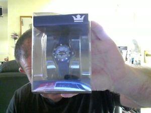 【送料無料】sempre mini colour wrist watch blue ideal secret santa gift free uk post