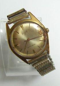 【送料無料】vintage elgin 17 jewels mens self winding watch
