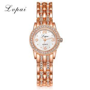 【送料無料】lvpai cheap stainless steel watch rose gold bracelet watch fashion luxury wo